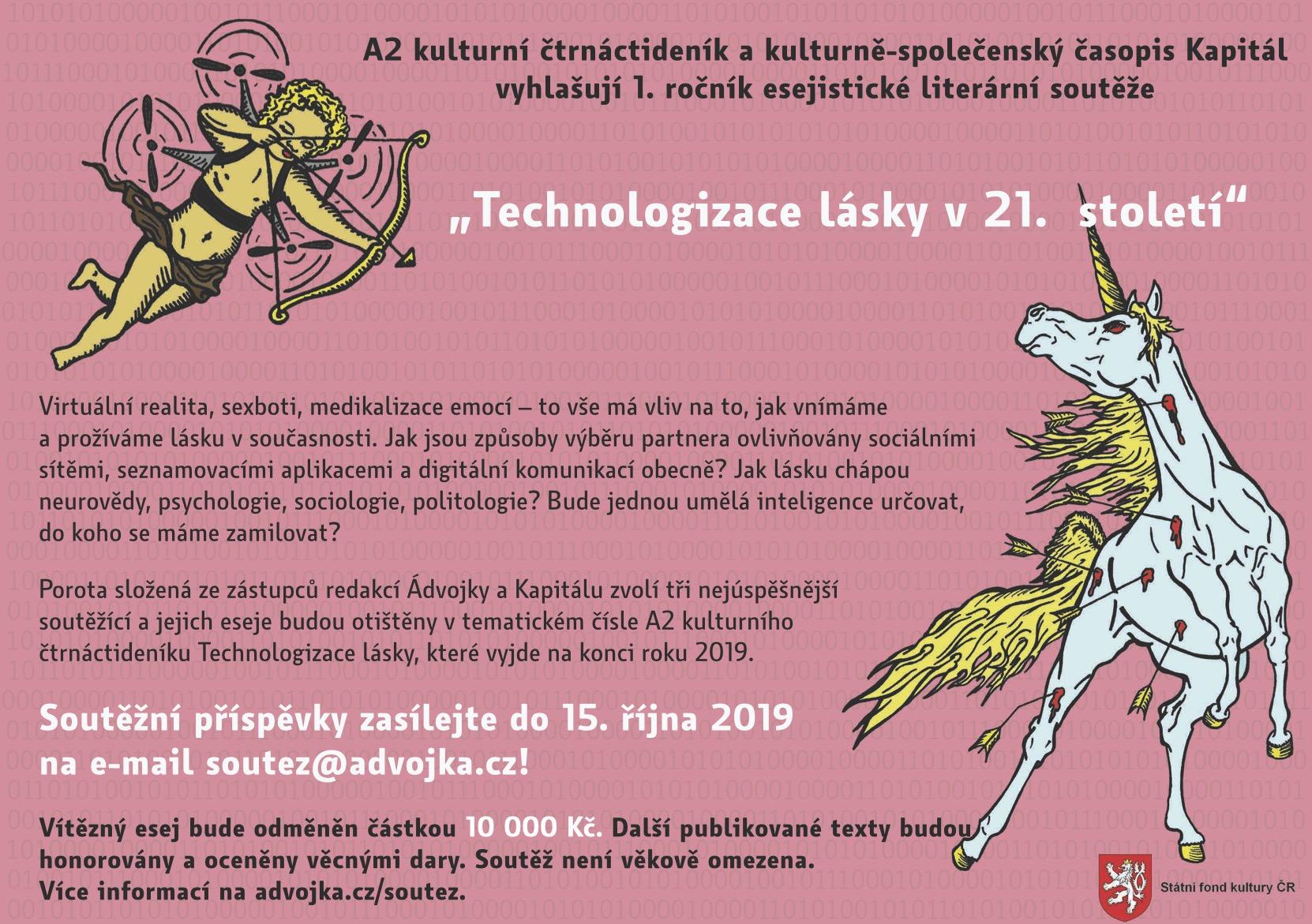 Literární soutěž Technologizace lásky
